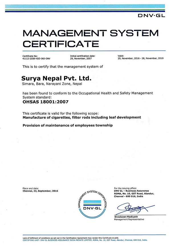 brief surya nepal private limited Brief rationale june 15, 2016 care assigns 'care b+' ratings to the bank facilities of surya plastics manufacturing private limited ratings.